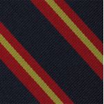 Queen's Own Royal Glasgow Yeomanry Stripe Silk Tie #9