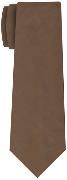 Brown Shot Thai Silk Tie #33