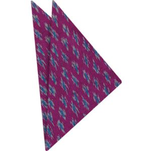 Mudmee Silk Pocket Square # 20