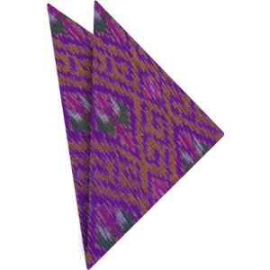 Mudmee Silk Pocket Square # 22