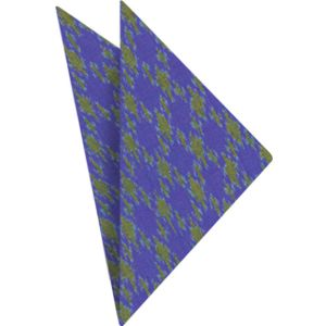 Mudmee Silk Pocket Square # 33