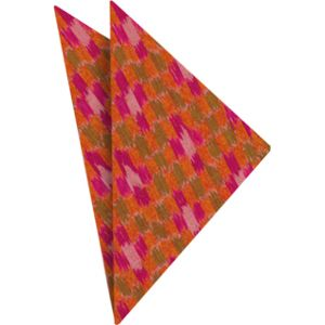 Mudmee Silk Pocket Square # 49