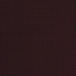 Burgundy Diamond Weave Silk Tie #12