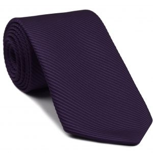 Purple Grosgrain Silk Tie #18
