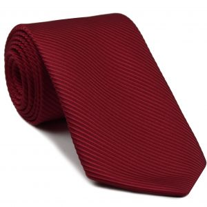 Red Grosgrain Silk Tie #2