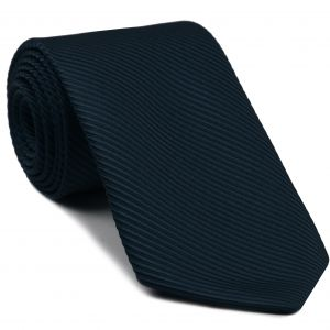 Midnight Blue Grosgrain Silk Tie #7