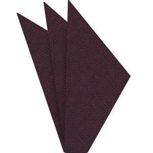 Plum (Purple & Midnight Blue) Linen Pocket Square #2