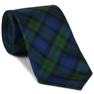 The Black Watch Tartan Silk Tie #TAT-14