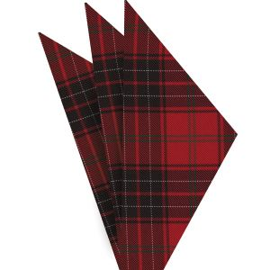 Wemyss Tartan Silk Pocket Square #TAP-1