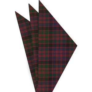 MacDonald of Clanranald Tartan Silk Pocket Square #TAP-11