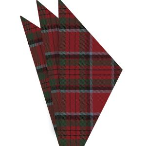 Stewart Royal Tartan Silk Pocket Square #TAP-13