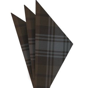 Tartan Silk Pocket Square #TAP-15