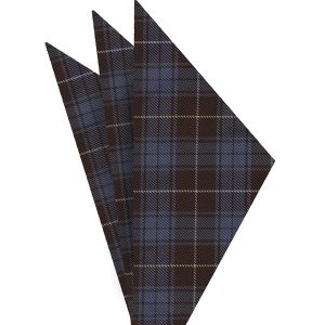 Bruce of Scotland Tartan Silk Pocket Square #TAP-5