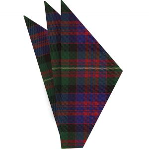 Carnegie Tartan Silk Pocket Square #TAP-6