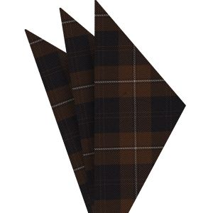 Cunningham Tartan Silk Pocket Square #TAP-7