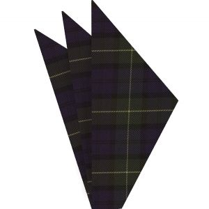 Forbes Tartan Silk Pocket Square #TAP-9