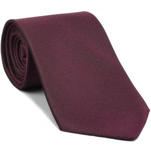Rose Pink Oxford Silk Tie #FFOXT-10