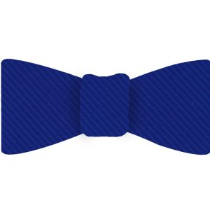 Royal Blue Grosgrain Silk Bow Tie #GGRBT-5
