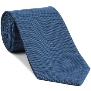 Sky Blue Oxford Silk Tie #FFOXT-5