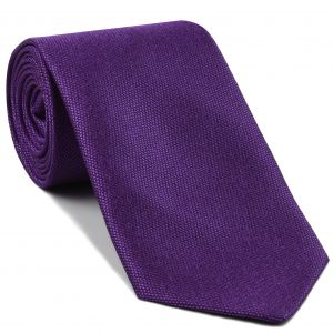 Purple Mulberrywood Weave Silk Tie #MWT-2