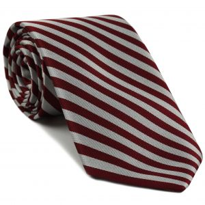 Middle Temple Striped Silk Tie #UKL-5