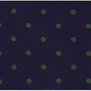 Forest Green on Dark Purple Macclesfield Print Silk Pocket Square #MCDP-7