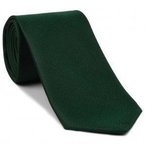 Forest Green Oxford Silk Tie #EOXT-11