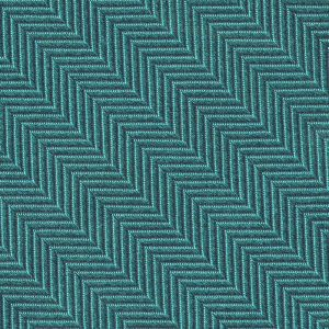 Turquoise Herringbone Silk Pocket Square #HBP-10