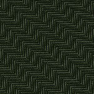 Forest Green Herringbone Silk Pocket Square #HBP-11