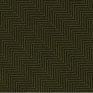 Olive Green Herringbone Silk Pocket Square #HBP-12