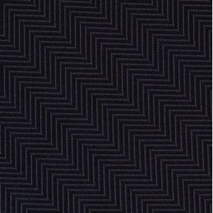 Midnight Blue Herringbone Silk Pocket Square #HBP-2
