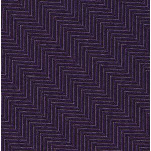 Purple Herringbone Silk Pocket Square #HBP-3