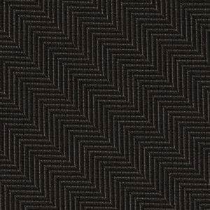Bitter Chocolate Herringbone Silk Pocket Square #HBP-4