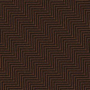 Chocolate Herringbone Silk Pocket Square #HBP-5