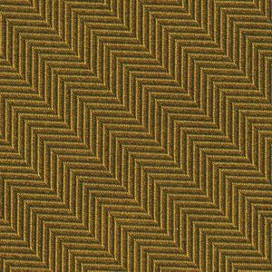 Gold Herringbone Silk Pocket Square #HBP-6