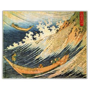 Ocean Landscape Hokusai Print Pocket Rectangle #4