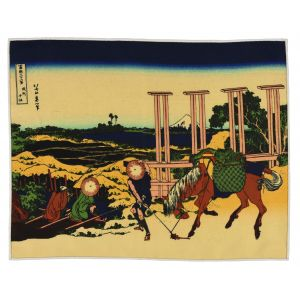 Senju Hokusai Print Pocket Rectangle #5