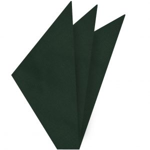 Forest Green Mogador Solid Pocket Square #MGSOP-4