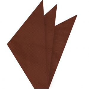 Burnt Orange Mogador Solid Pocket Square #MGSOP-8