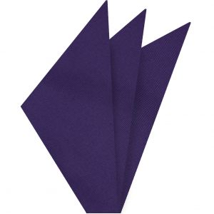 Purple Mogador Solid Pocket Square #MGSOP-9