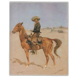 The Puncher Remington Painting Pocket Rectangle #2
