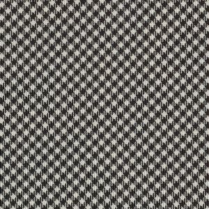 Black & White Shepherd's Check Silk Pocket Square #SCHP-4