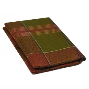 Mudmee Plaid Thai Silk Wallet #63