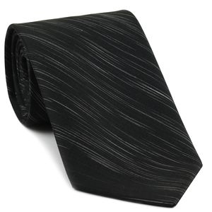 Off-white & Black Thai Saiphone Silk Tie #5
