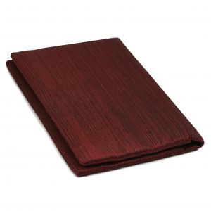 Dark Red & Black Thai Saiphone Silk Wallet #10