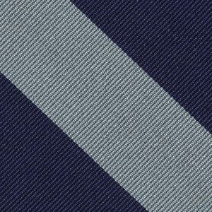 Pembroke College Cambridge Stripe Silk Pocket Square #UKUP-41