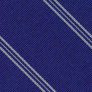 Peterhouse Cambridge Stripe Silk Pocket Square #UKUP-42