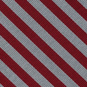 Middle Temple Striped Silk Pocket Square #UKLP-5