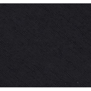 Black Shantung Solid Silk Pocket Square #SHSOP-8