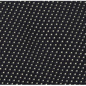 White On Midnight Blue Grenadine Fina Pin Dot Silk Pocket Square #GFPDP-1